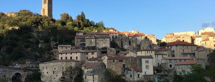 Olargues is one of Les plus beaux villages de France.