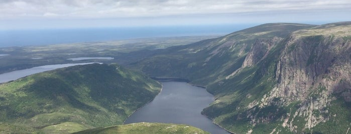 Gros Morne Mountain is one of O Canada!.