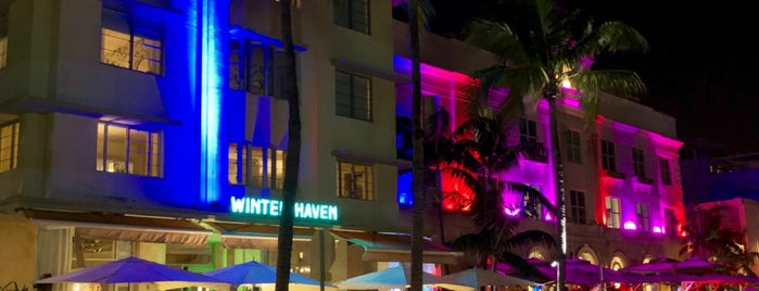 Art Deco District is one of Miami.