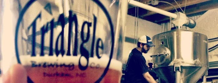 Triangle Brewery is one of Breweries or Bust.
