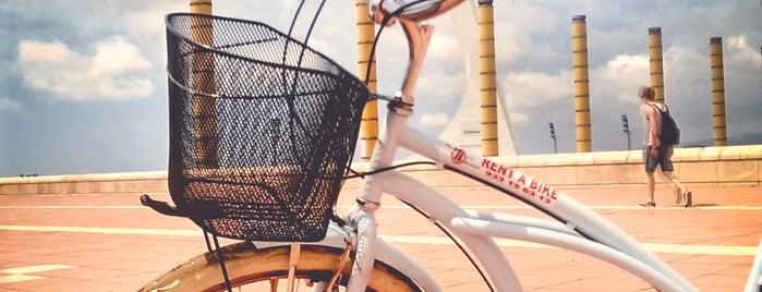 Plan Bike Barcelona is one of Tempat yang Disukai Яна.