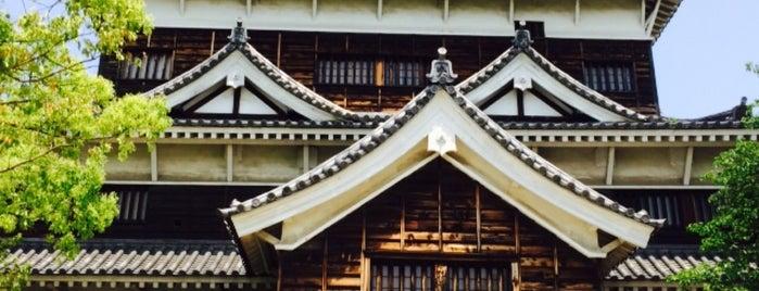 広島城 天守閣 is one of Tempat yang Disukai David.