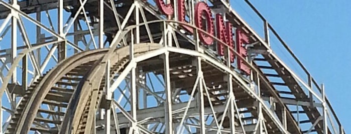 The Cyclone is one of Must-See Coney Island.