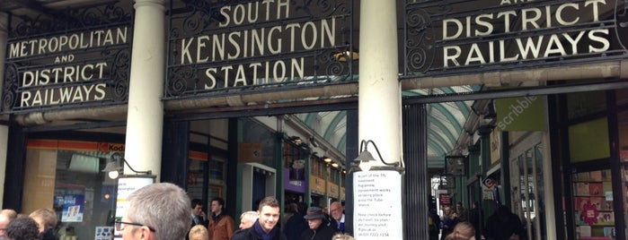 South Kensington is one of london.