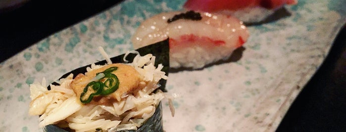 Sushi Nakazawa is one of Manhattan food.