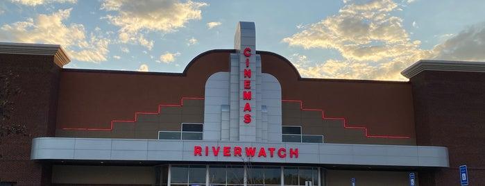 Riverwatch 12 Cinemas is one of Thinzel'in Beğendiği Mekanlar.
