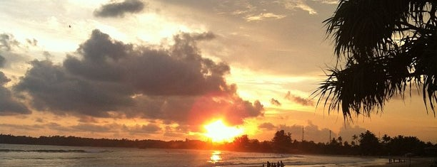 Weligama Bay Beach is one of Sri Lanka.