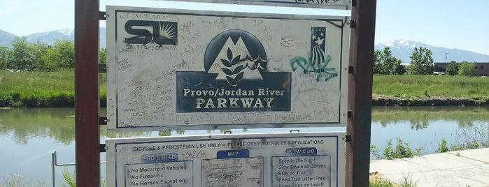 Jordan River Parkway - Redwood Trailhead is one of Top 10 favorites places in Salt Lake City, UT.