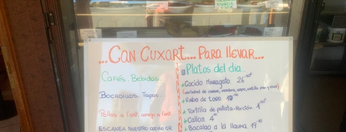 Can Cuxart is one of Restaurantes con encanto.