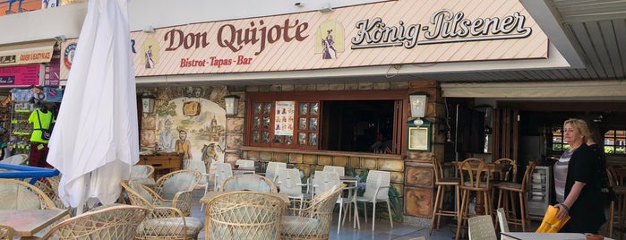 Don Quijote is one of Kanáry.