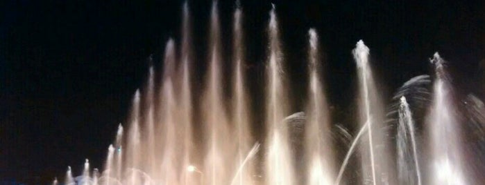 Dancing Fountain | მოცეკვავე შადრევანი is one of Haydar 님이 좋아한 장소.