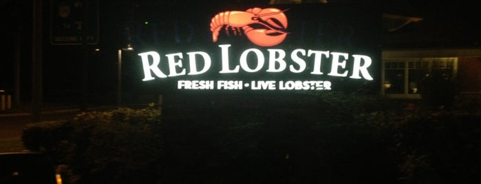 Red Lobster is one of Lugares favoritos de Fernando.