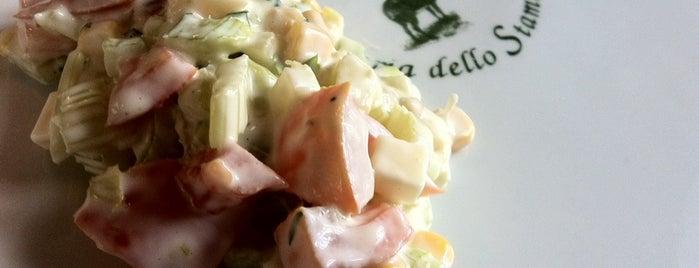 Osteria Dello Stambecco is one of Essen 8.