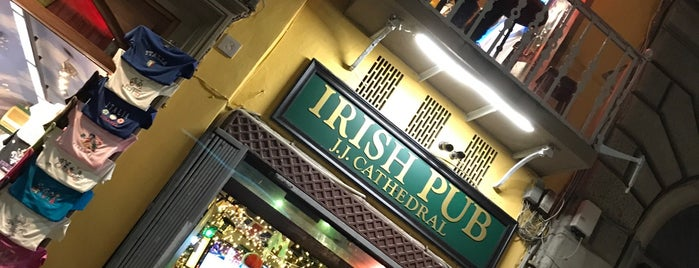 J.J Cathedral Pub is one of 2015 Italy.