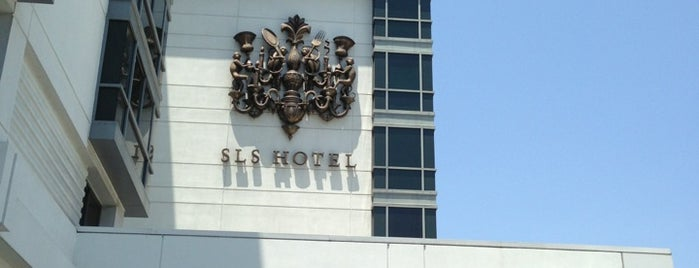 SLS Hotel, a Luxury Collection Hotel, Beverly Hills is one of Fave Hotels & Resorts.