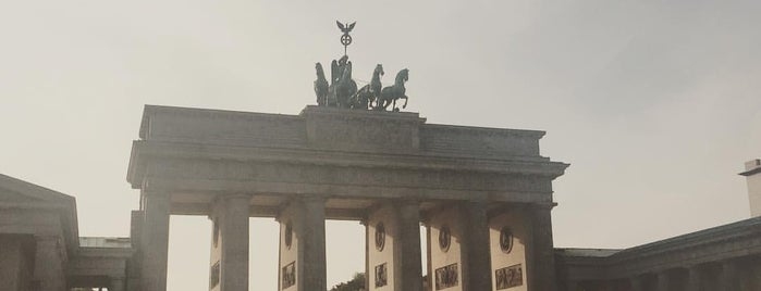 Brandenburg Gate is one of Marcos's Liked Places.