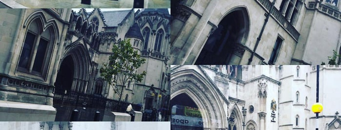 Royal Courts of Justice is one of Marcos's Liked Places.