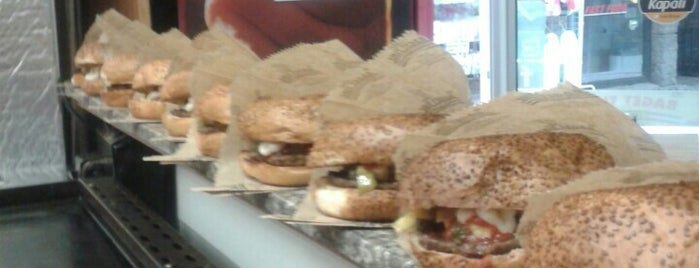 Baget Time Burger is one of Gittim Gördüm Güzeldi Restaurant&Cafe.