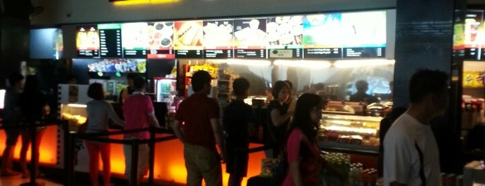 Golden Screen Cinemas (GSC) is one of Mall.