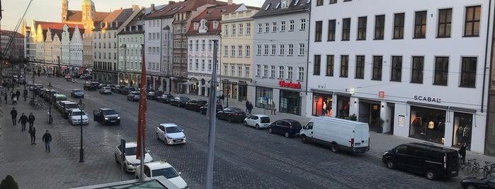 Steigenberger Drei Mohren Augsburg is one of Augsburg.