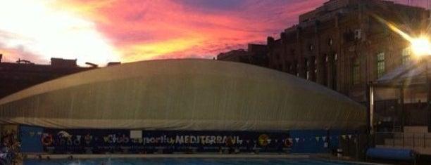 Club Esportiu Mediterrani is one of Lugares favoritos de Marco.