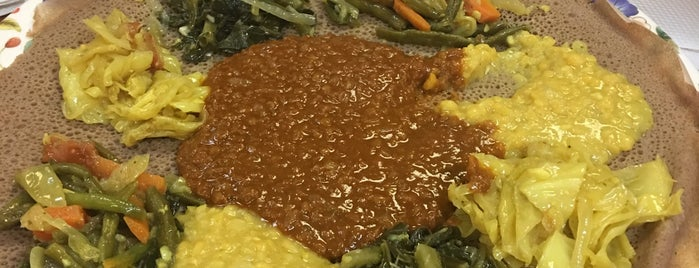 Addis Grill is one of Downtown Lunch Grind.