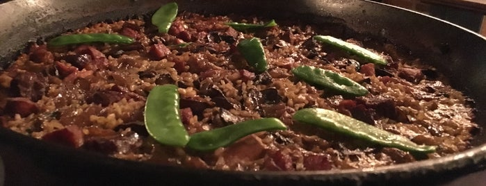 Socarrat Paella Bar is one of The Medinas -  Our New York City.