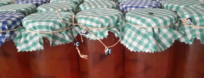 BodrumReçelEvi yöresel ürünler is one of Badrum Badrum.