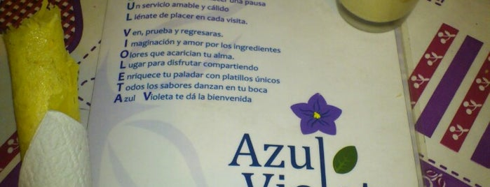 Azul Violeta is one of Restaurante.