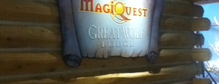 MagiQuest at Great Wolf Lodge is one of Mason Lodge.