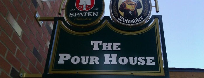 The Pour House is one of Football Bars.
