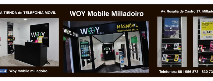 Woy Mobile Milladoiro is one of Sergioさんの保存済みスポット.