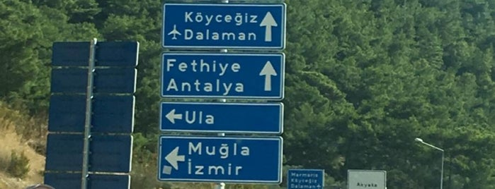 Köyceğiz➡Marmaris Yolu is one of Özgür Yaşarさんのお気に入りスポット.