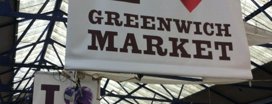 Greenwich Market is one of Greenwich and Docklands; London.