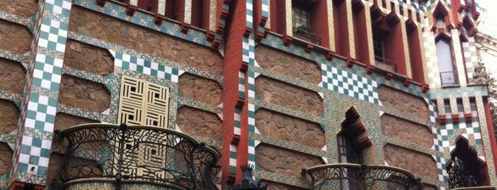 Casa Vicens is one of 가우디투어.