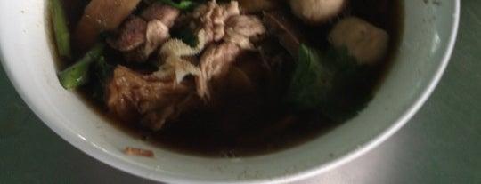 ก๋วยเตี๋ยวเนื้อนายอ้วน is one of Beef Noodle in Bangkok.