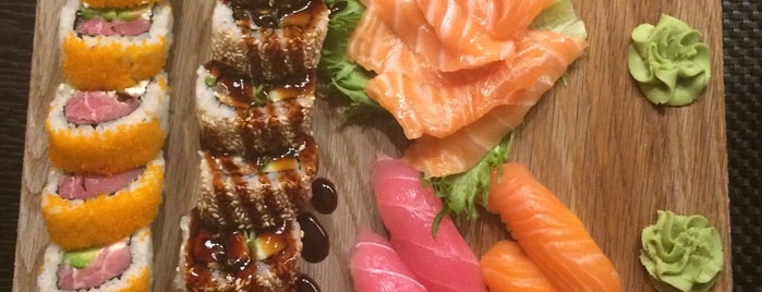 Sushi Plaza is one of Linet's Liked Places.