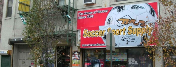 Home of Soccer is one of Wear!.