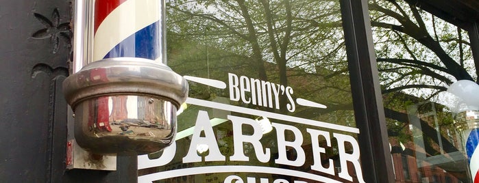 Benny's Barber Shop is one of Jason : понравившиеся места.