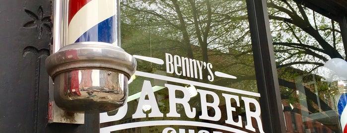 Benny's Barber Shop is one of Tempat yang Disukai Jason.