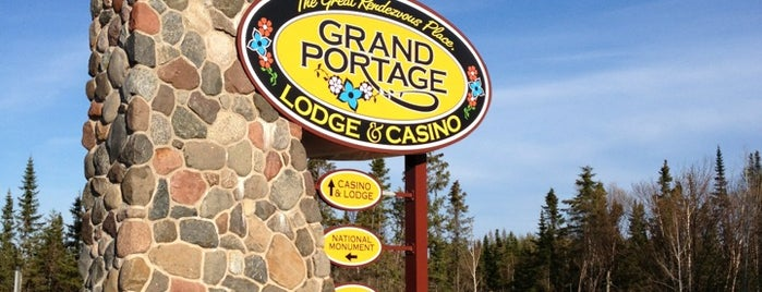 Grand Portage Lodge And Casino is one of Native American Cultures, Lands, & History.