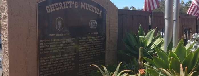 William B. Kolender Sheriff's Museum is one of San Diego.