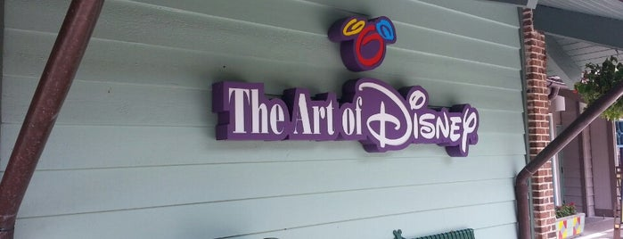 The Art of Disney is one of #WDW Fave Spots.