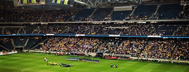 Friends Arena is one of Stockholm #WeAreBack.