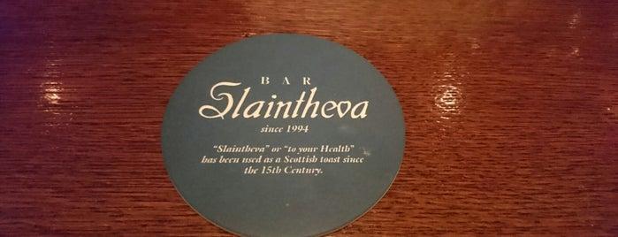 BAR Slaintheva is one of Favorite Nightlife Spots.