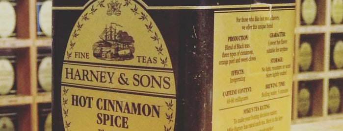 Harney & Sons is one of Java to Try.