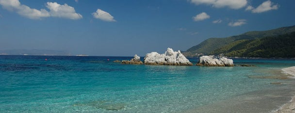 Milia Beach is one of Skopelos.