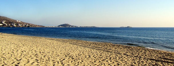 Plaka Beach is one of plages.