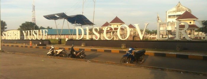 Lapangan SYECH YUSUF DISCOVERY is one of Destination In Indonesia.