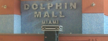 Dolphin Mall is one of The Magic City Miami.